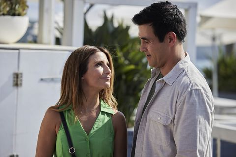 leah patterson and justin morgan in home and away