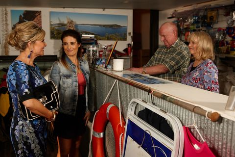 Marilyn Chambers talks about Jett's return in Home and Away