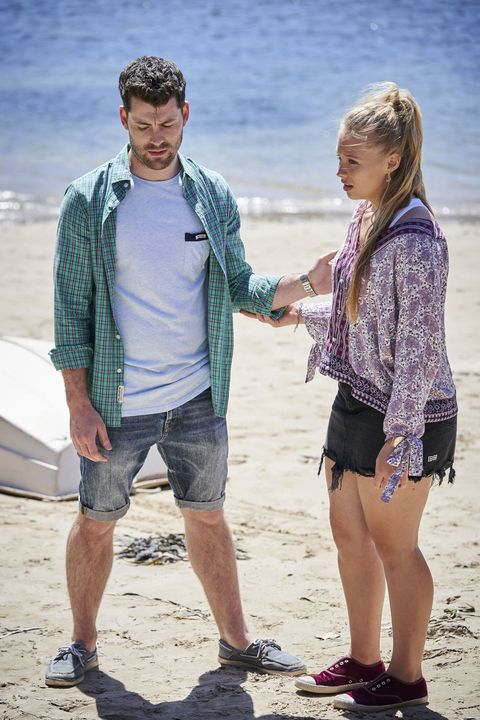 Raffy Morrison is sad about Brody Morgan leaving in Home and Away