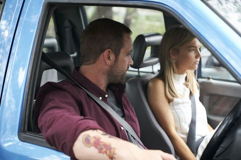 Robbo and Jasmine Delaney head to counselling together in Home and Away