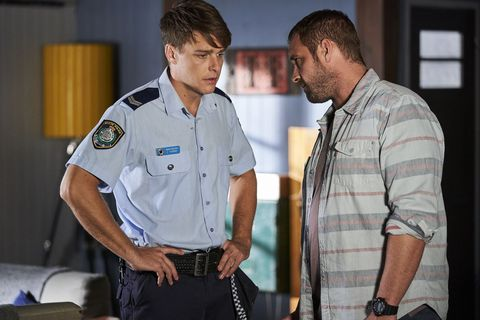 Robbo and Jasmine Delaney's storyline continues in Home and Away