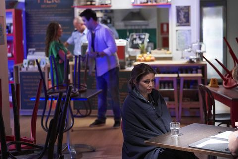 roo stewart, justin morgan and leah patterson baker in home and away