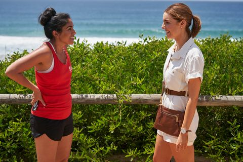 willow harris and amber simmons in home and away