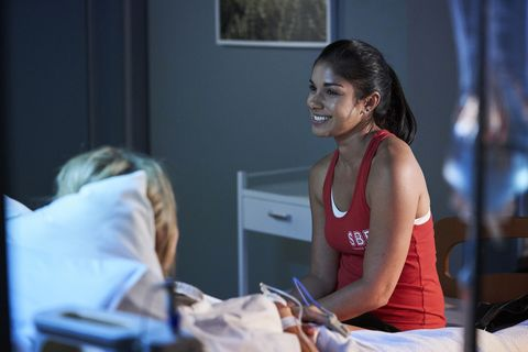 Jasmine Delaney and Willow Harris in Home and Away