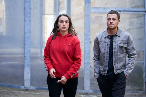 trouble for bella nixon and dean thompson as they visit colby thorne in prison in home and away