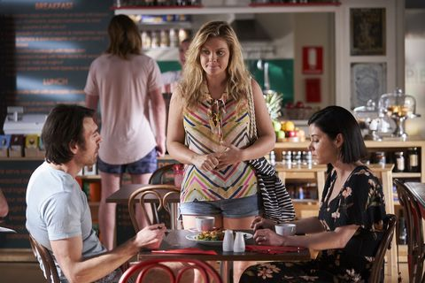Ziggy Astoni confides in Ben and Maggie in Home and Away
