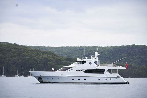 Rick Booth's boat in Home and Away