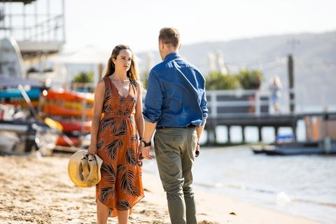 tori morgan and christian green in home and away