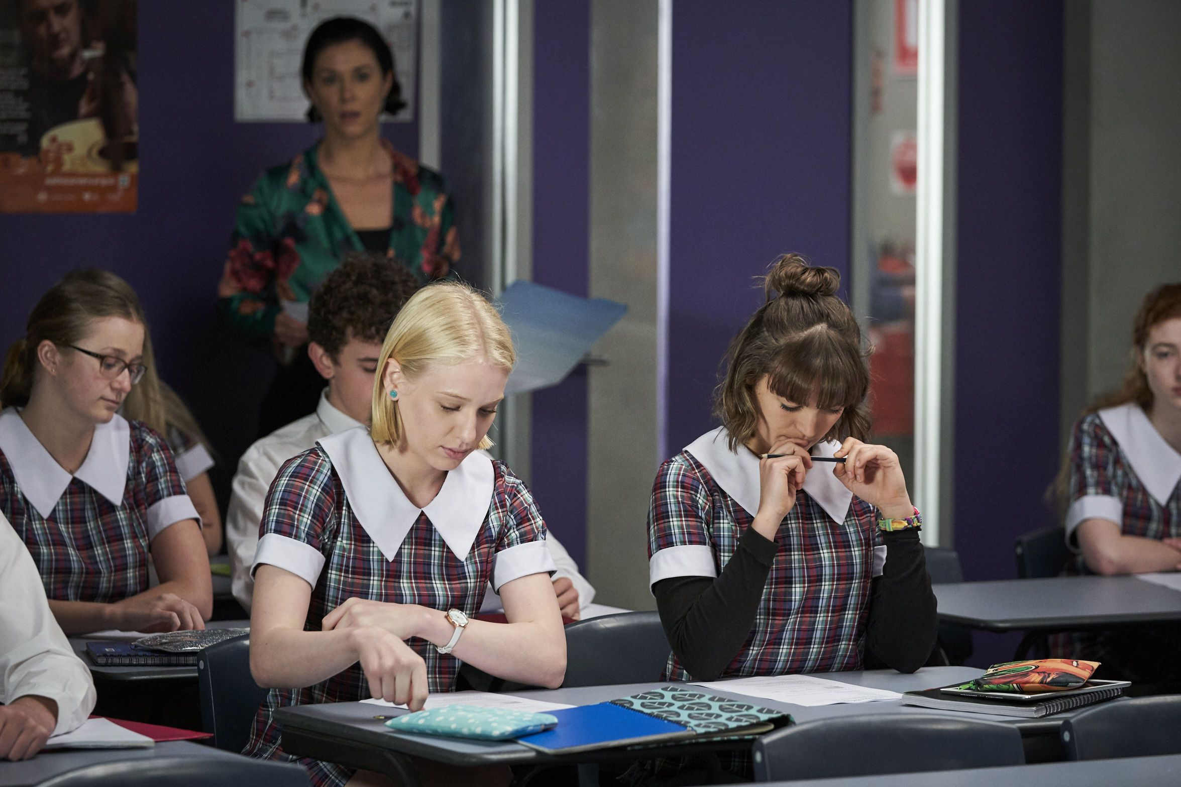 Bella Nixon struggles at school in Home and Away