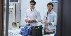Justin and Mason Morgan worry about Tori in Home and Away