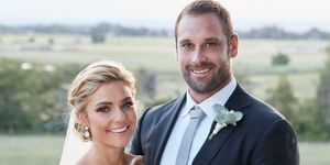 Jasmine Delaney and Robbo's wedding day in Home and Away