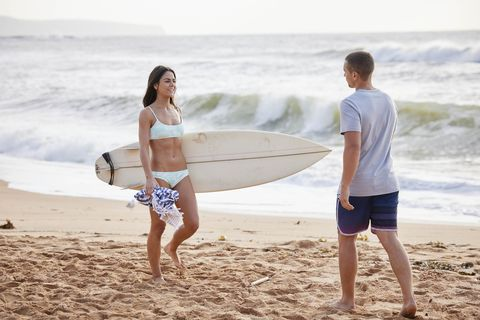 mackenzie booth and logan bennett in home and away