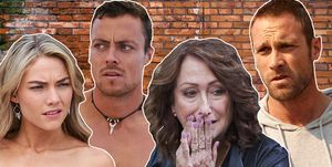 Home and Away, Jasmine Delaney, Dean Thompson, Irene Roberts, Robbo Shaw