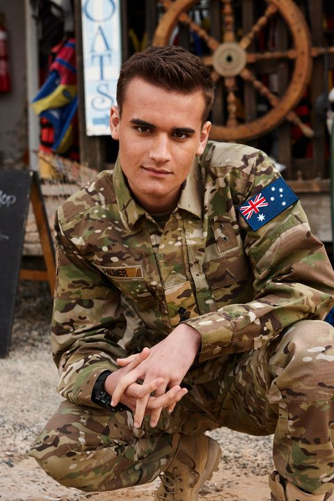 Will McDonald as Jett James in Home and Away