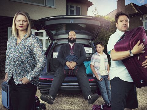Exclusive: Channel 4 sitcom Home sees British family accidentally adopt a refugee in sharp first trailer
