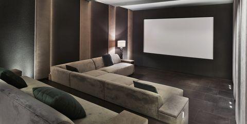 home cinema in mansion