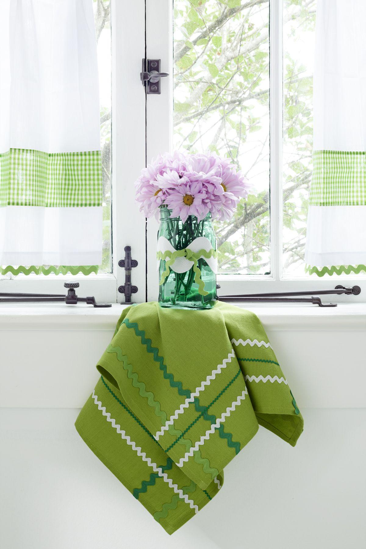 Home Decor Crafts Dish Towels
