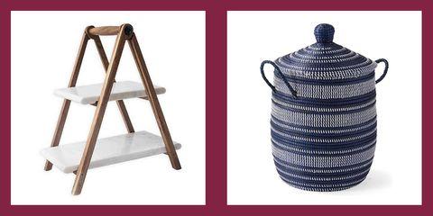 Wicker, Basket, Home accessories, Metal,