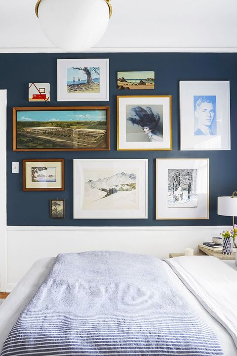 home decor trends 2020 - navy blue