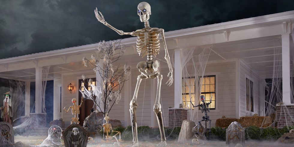 Home Depot Is Selling A 12-Foot Skeleton That Will Be The Talk of The Town