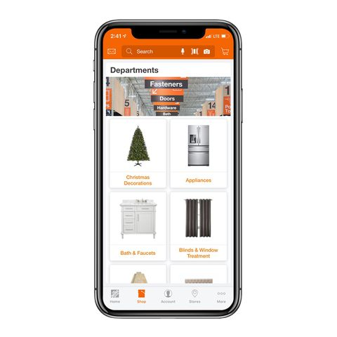 The Home Depot interior design app