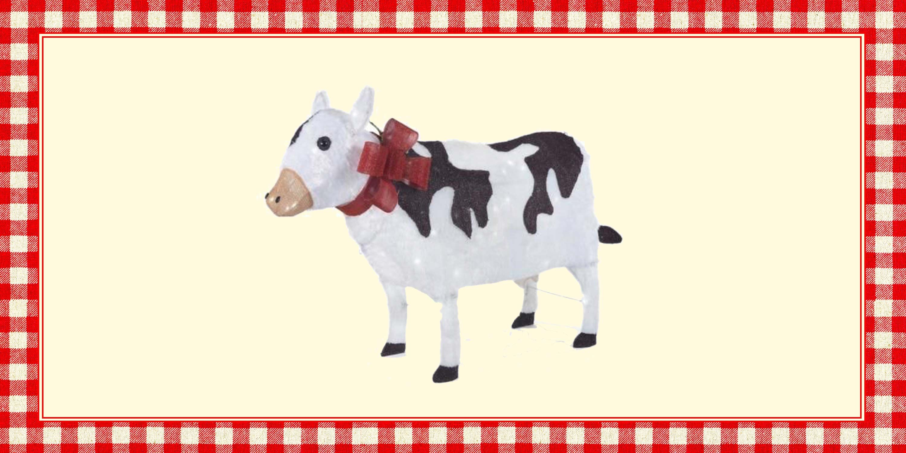 Home Depot Christmas Yard Cow Decoration 2019 Best Cow