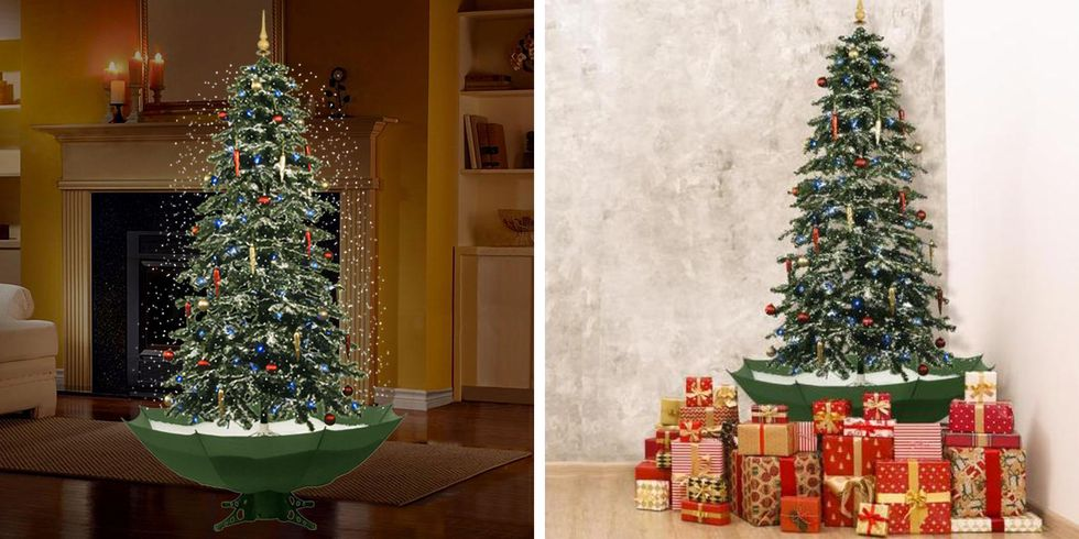 Home Depot Is Selling a Christmas Tree That Literally Snows And Plays Music