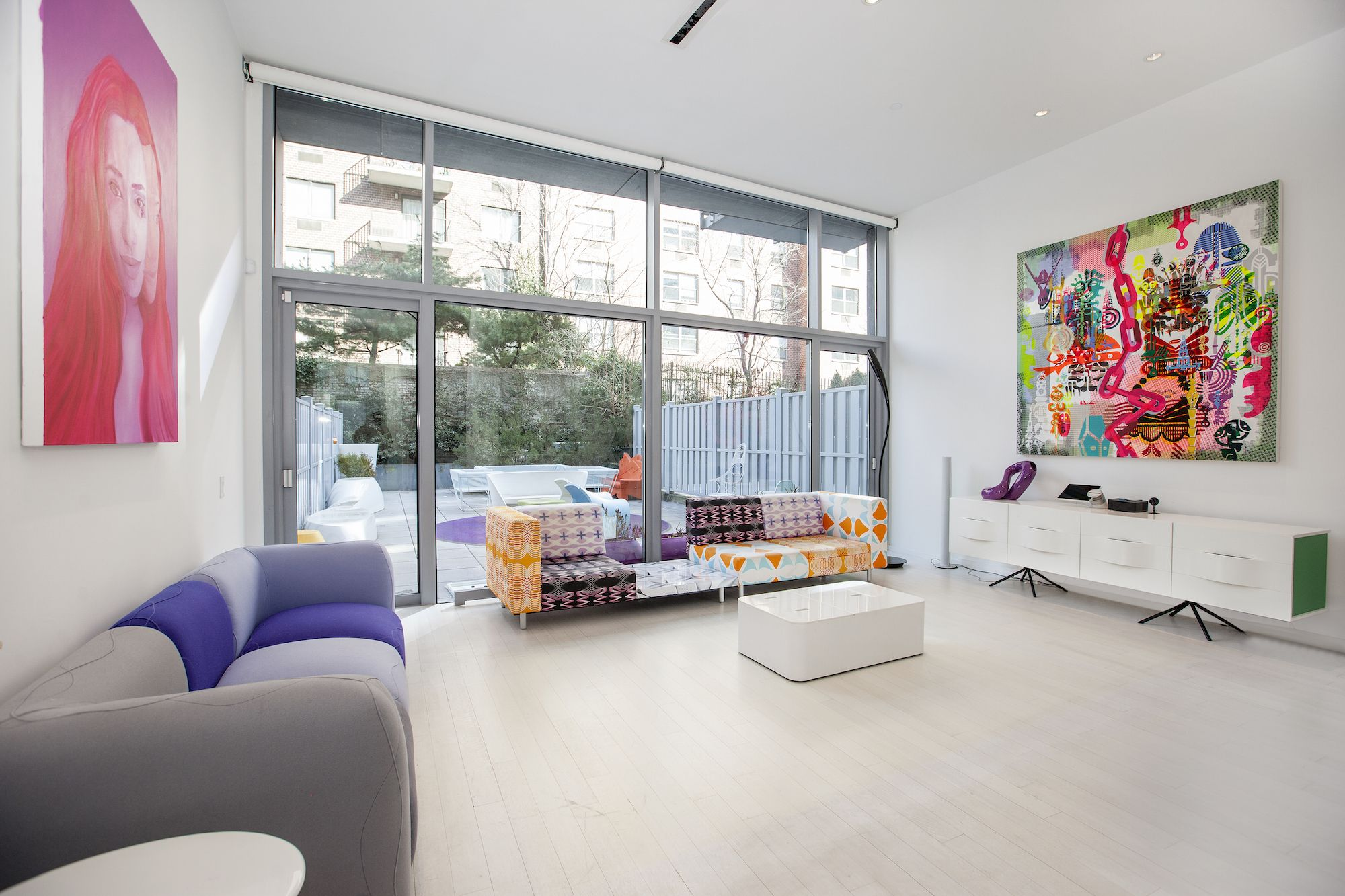 designer karim rashid just listed his colorful, modern apartment