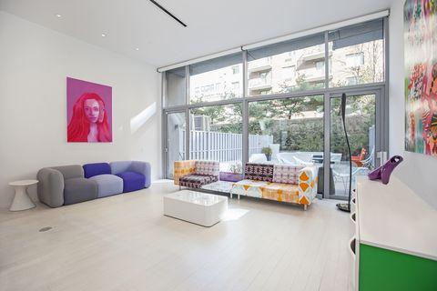 Designer Karim Rashid Just Listed His Colorful Modern Apartment Custom Home Design Pictures