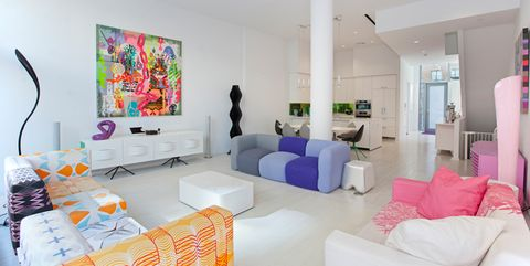 Designer Karim Rashid Just Listed His Colorful Modern Apartment For 4 Million