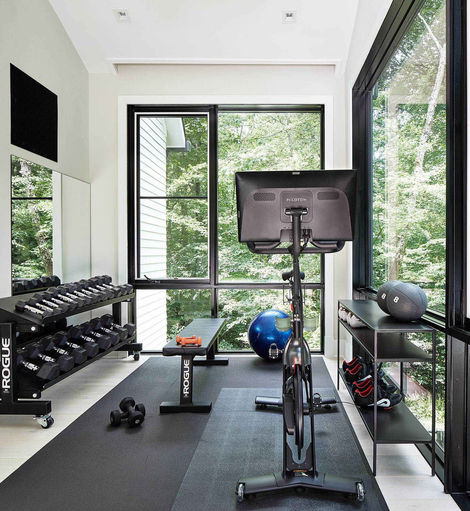 10 Home Gym Ideas Small Space Home Gym Inspo