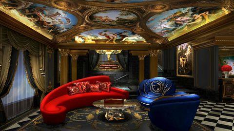hotel the 13 interior
