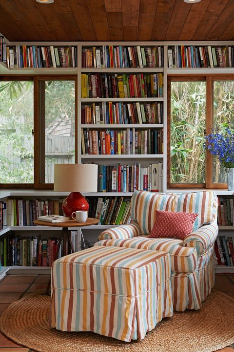Living Room Library Design Ideas: 45 Best Home Library Ideas
