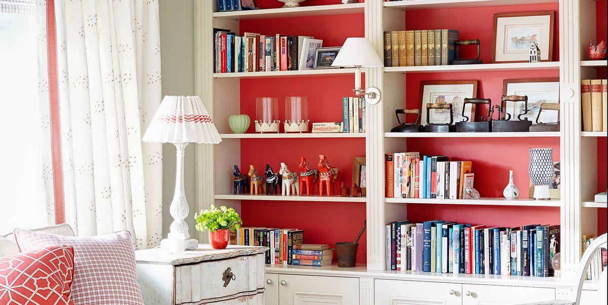 10+ идей для домашней библиотеки, которые сделают вашу коллекцию центром внимания