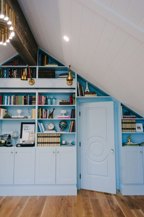 home library ideas space saving