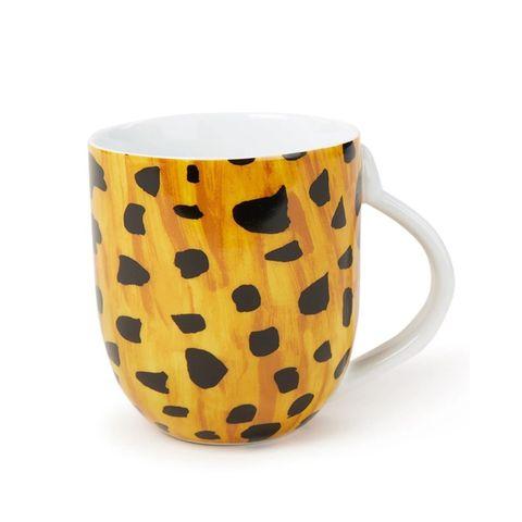 Mug, Drinkware, Orange, Yellow, Cup, Tableware, Cup, Pattern, Design, Ceramic,