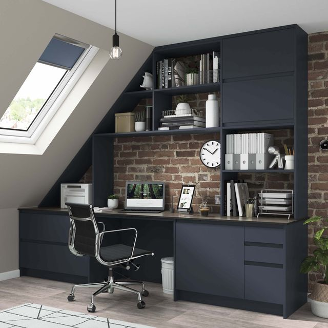 wickes fitted home office range