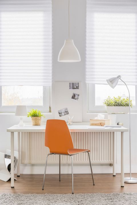 Home Office Ideas - White Office