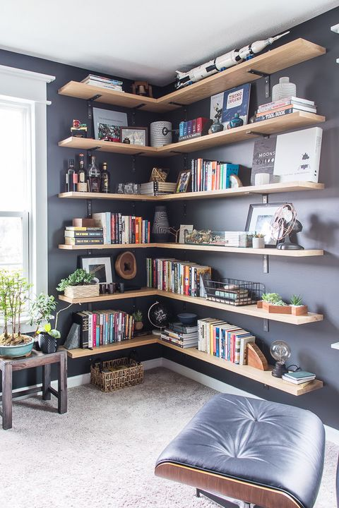 Home Office Ideas - Bookshelves