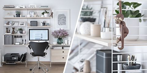 Home Office With Scandinavian Design - Scandinavian Furniture