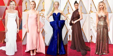 605ffd24a Premios Oscar 2018  la alfombra roja - Todos los looks de los Oscar 2018