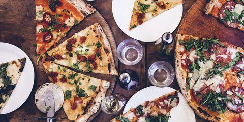 Dish, Food, Cuisine, Ingredient, Flatbread, Pizza, Finger food, Comfort food, Brunch, Supper,