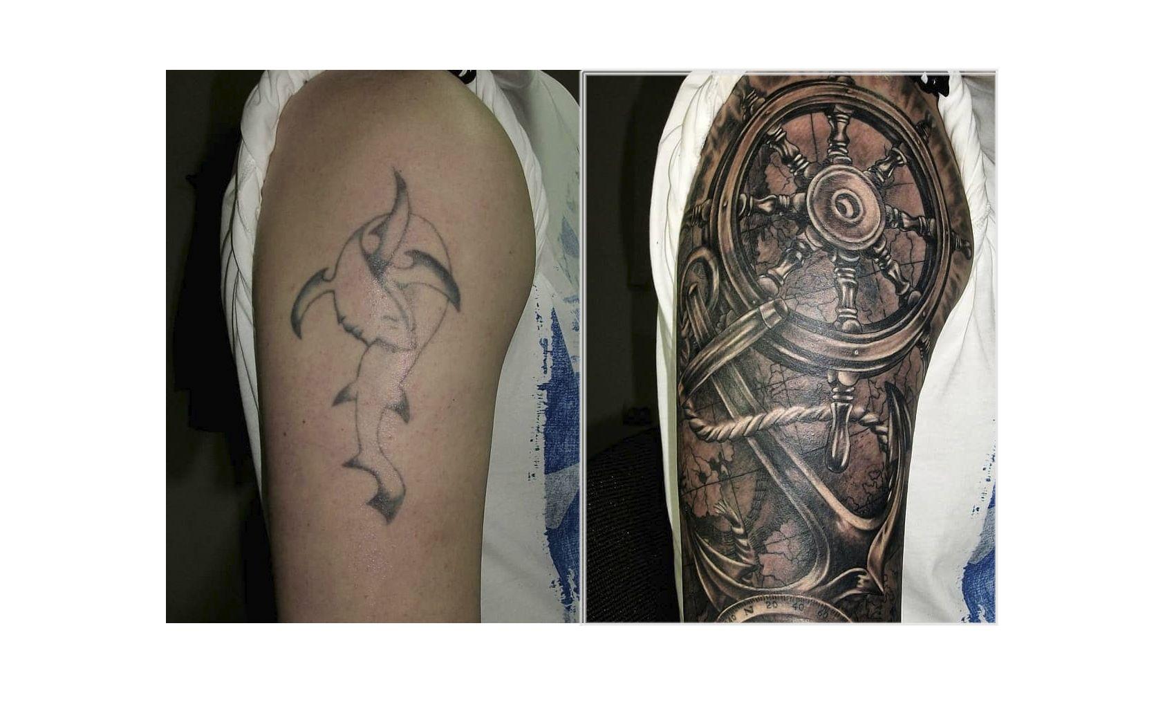 Como Hacer Un Diseño Para Tatuaje cómo arreglar un tatuaje? 10 covers increíbles