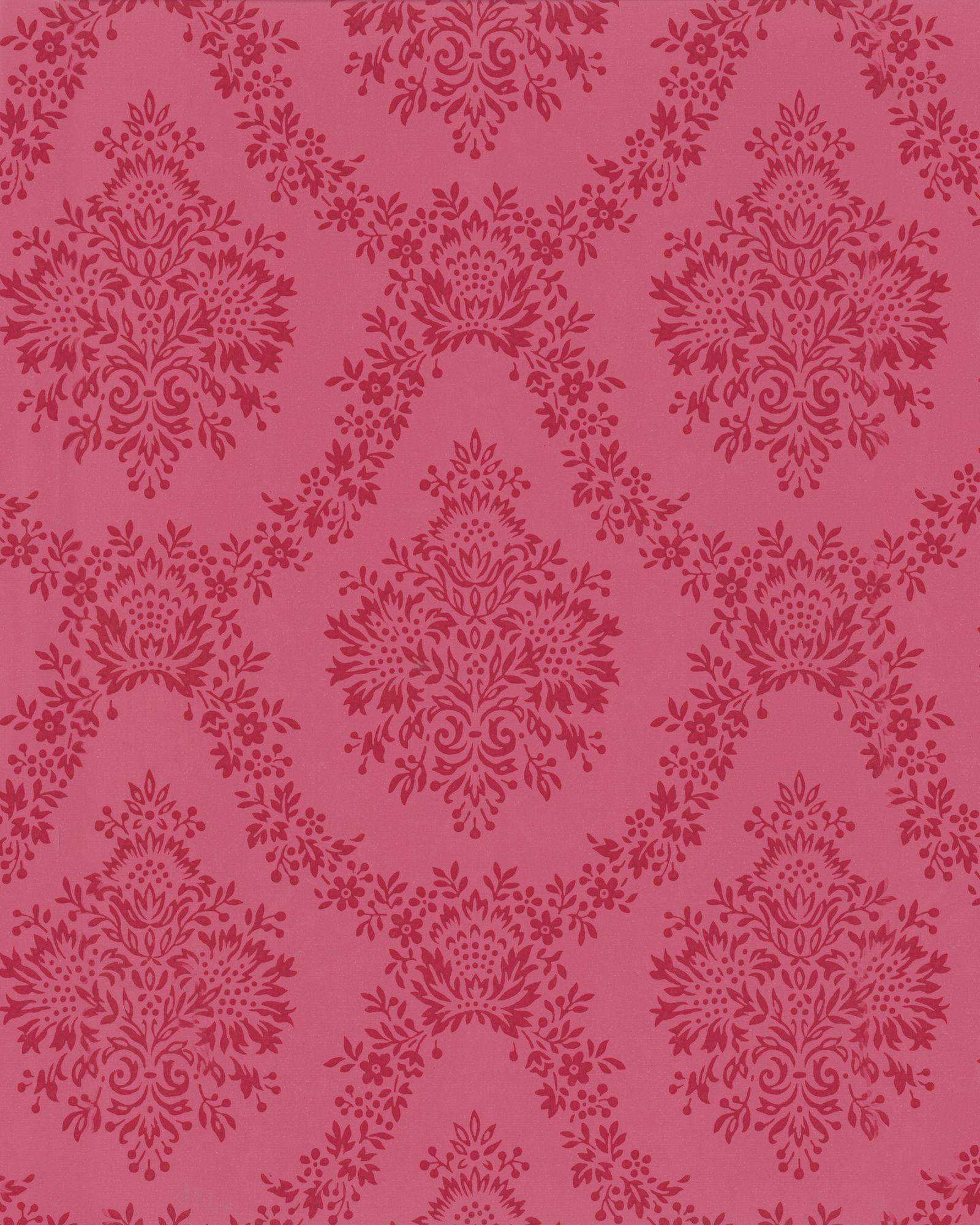 Popular Wallpaper Marble Hot Pink - home-trends-damask-wallpaper-1490208380  Image_42398.jpg