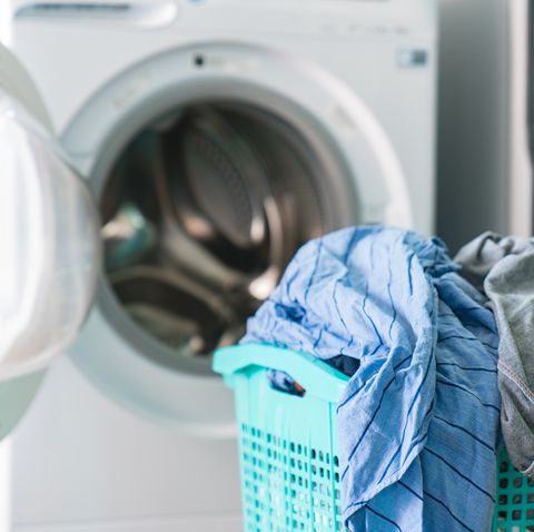 Home Washing Machine Washing Cycle Preparation