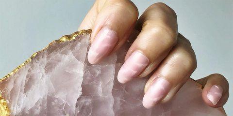 como hacer manicura marmolada unas marmol