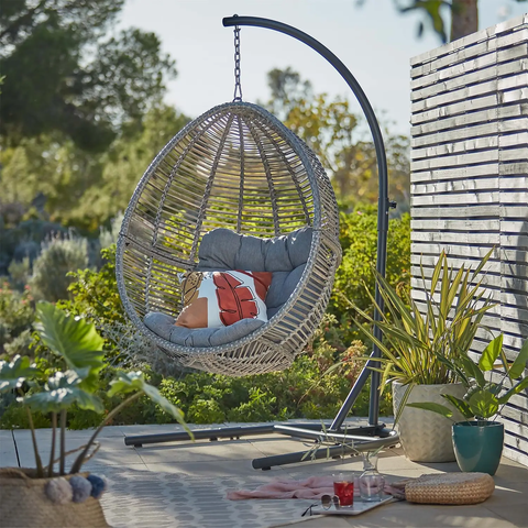 homebase florence hanging chair