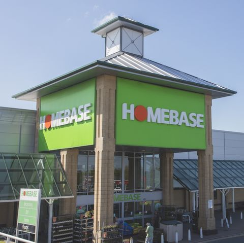 telford, england   may 16, 2016 an editorial stock photo of the homebase store front in telford, england homebase is a british home improvement retailer and garden centre, with stores across the united kingdom and republic of ireland people can be seen entering the store to buy products for various diy projects