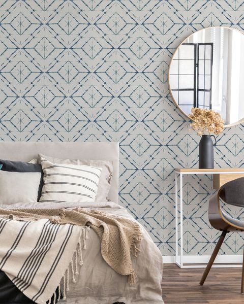 homebase wallpaper, new wallpaper range from the house beautiful collection at homebase