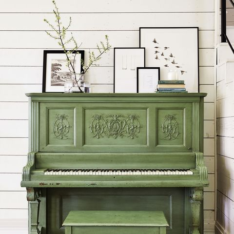 Furniture, Piano, Room, Technology, Spinet, Player piano, Interior design, Electronic device, Table, Electronic instrument,